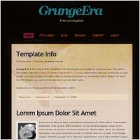 GrungeEra 1.0 Template