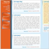 Happy Blog Template