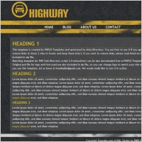 Highway Template