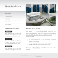 Home Interior 1.0 Template