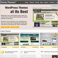 HoneyThemes Template