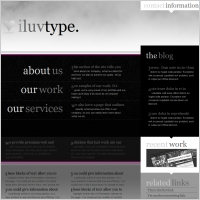 iluv type Template