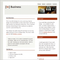[in] Business Template