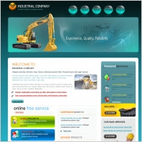 Industrial Company Template