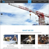 industrial construction website template