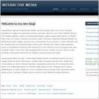 Interactive Media Template