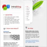 Intrablog Template
