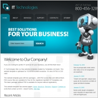 IT Technologies Template
