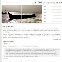Jan 002 Template