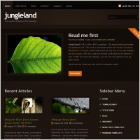 Jungle land Template