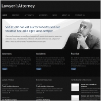 Lawyer & Attorney Template