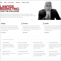Lawyer Marketing Template