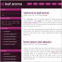 leaf aroma