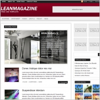 Lean Magazine Template