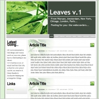Leaves v.1 Template