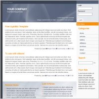 Light Biz Template
