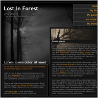 Lost in Forest 1.0 Template
