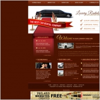 Luxury Car Rental Template