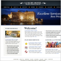 Luxury Hotel Template