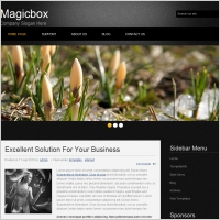 Magic box Template