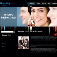 Magic City Template