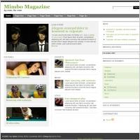 Mimbo Magazine Template