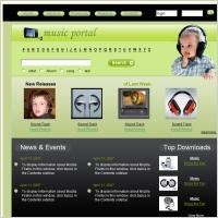 Music Portal Template