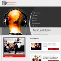 Musicmania Template