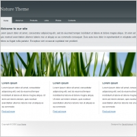 Full php website download free website templates for free download nature theme template maxwellsz