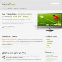 Neutral Desk Template