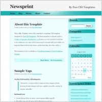 Printing web template free website templates for free download about