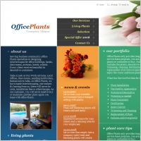 Office Plants Template
