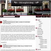 Old english blog Template