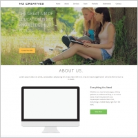 one page responsiive html template - Html Templates Free Download