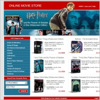 Online Movie Store Template