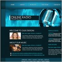 Online Radio Template