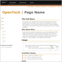 Open Tech Template