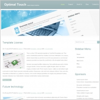 Optimal Touch Template