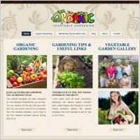 Organic Gardening Template