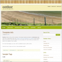 Outdoor 1.0 Template