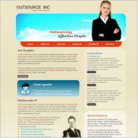 Outsource Inc Template