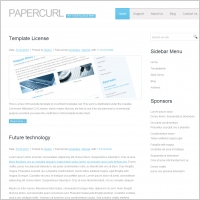 PaperCurl Template