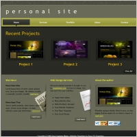 Personal website free website templates for free download about 5 personal maxwellsz