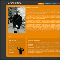 Personal Site Template