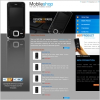Mobile website template free website templates for free download ...