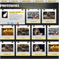 PhotoWall Template