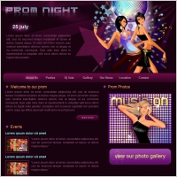 Prom Night Template