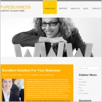 Pure Business Template