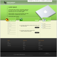 Pure Web 2.0 Template