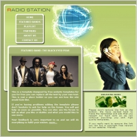 Radio Station Template